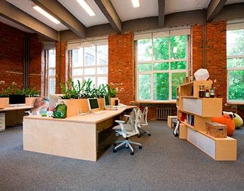 Дизайн интерьера офиса в Горках
