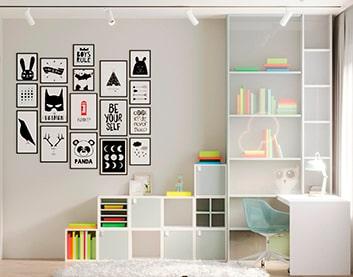 Дизайн интерьера комнаты в Горках