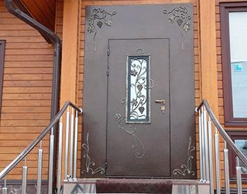 установка железной двери в Берёзе
