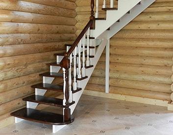 Деревянные лестницы в Каменце купить