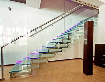Стеклянная лестница в Климовичах от 8800BYN