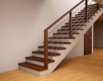 Бетонные лестницы  в Белыничах на заказ
