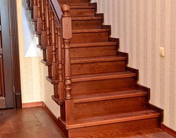Деревянная лестница - Логойск
