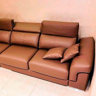 Перетяжка и ремонт дивана в Черикове