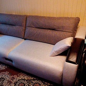 Перетяжка и ремонт мебели в Крупках