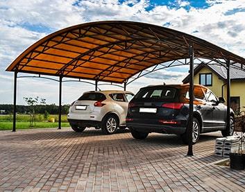 Навесы для автомобилей в Борисове