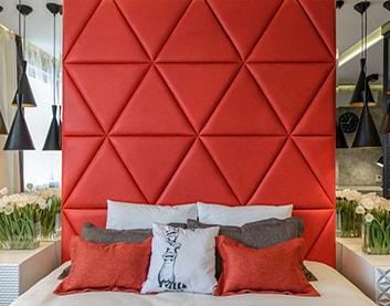 Мягкие панели для стен в Дубровно
