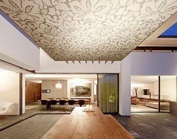 Тканевые (текстильные) натяжные потолки в Скиделе