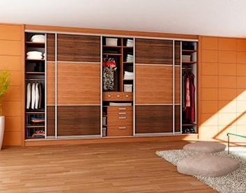 Встроенный (встраиваемый) шкаф в Быхове
