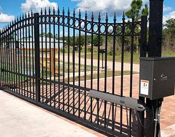 Автоматические распашные ворота в Высоком купить